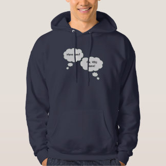 Fighting Twins Hooded Sweatshirt