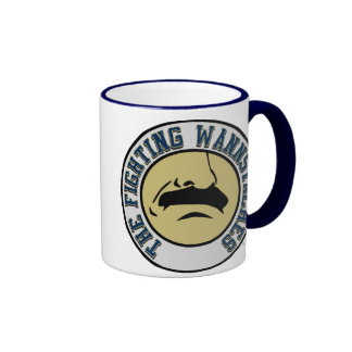 Fighting Wannstaches Large Mug
