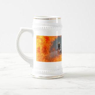 Fighting Wildfires Beer Stein