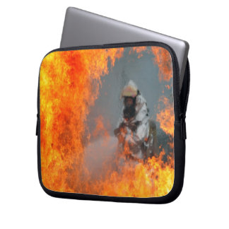 Fighting Wildfires Laptop Computer Sleeve