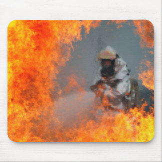 Fighting Wildfires Mouse Pad