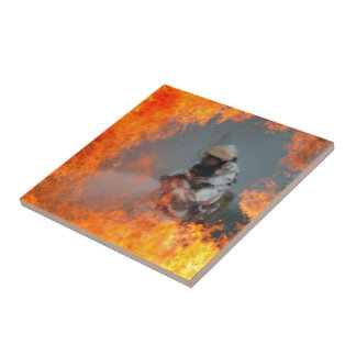 Fighting Wildfires Tile