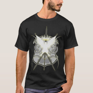 FightingSpirit GrayScale Yellow Outliner T-Shirt