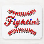 Fightin's Red Lace Original Mousepad