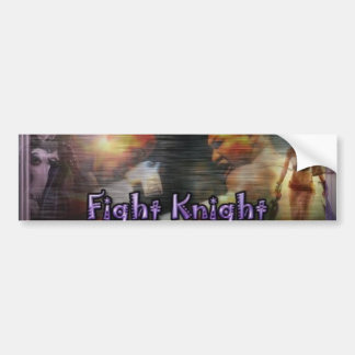 fightknight pegatina para auto