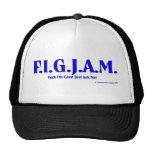 FIGJAM - BLUE TRUCKER HATS