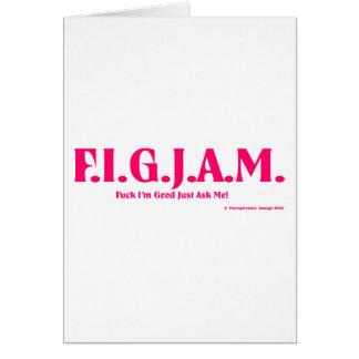 FIGJAM - PINK GREETING CARDS