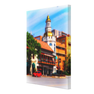 Figlio's Restaurant, Country Club Plaza, KC Canvas Print