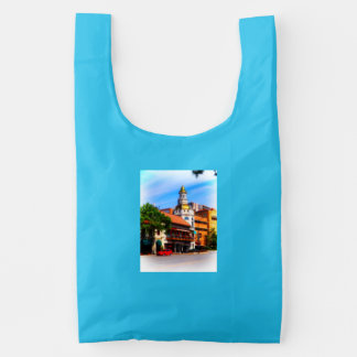 Figlio's Restaurant, Country Club Plaza, KC Reusable Bag