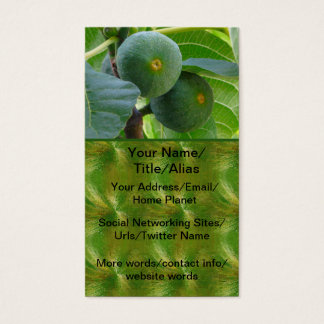 Figs Business Card