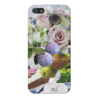 Figs, Floral and Pears Cell & iPad Cases