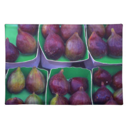 Figs in Boxes Cloth Placemat