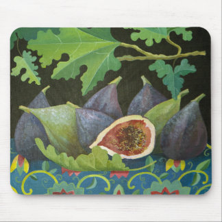 Figs on black 2014 mouse pad