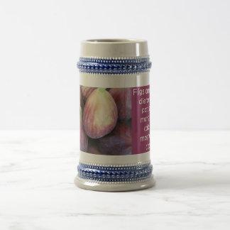 Figs stein 18 oz beer stein