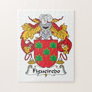 Figueiredo Family Crest Puzzle
