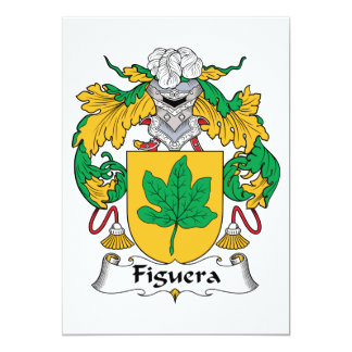 Figuera Family Crest Cards