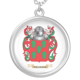 Figueras Coat of Arms Silver Plated Necklace