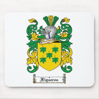 FIGUEROA FAMILY CREST -  FIGUEROA COAT OF ARMS MOUSE PAD