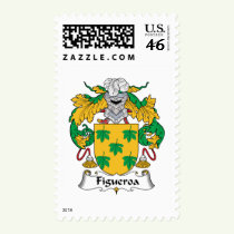 Figueroa Family Crest Stamps