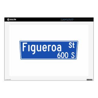 Figueroa Street, Los Angeles, CA Street Sign Laptop Decal