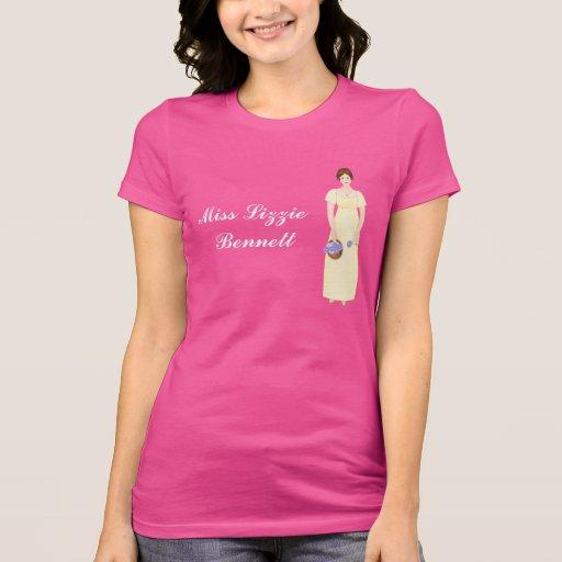 Figura adaptable de Elizabeth Bennet en vestido Camisetas