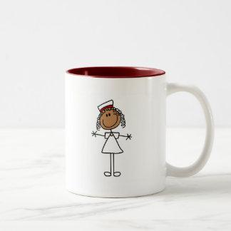 Figura afroamericana camisetas y regalos del palil tazas de café
