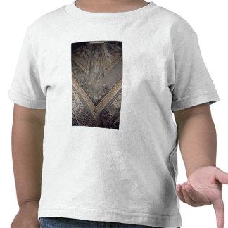 Figura alegórica del otoño, detalle de un mosaico camisetas