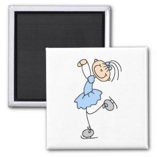 Figura azul camisetas y regalos del chica del pati imanes