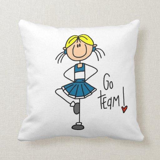 Figura azul camisetas y regalos del palillo de la  almohadas