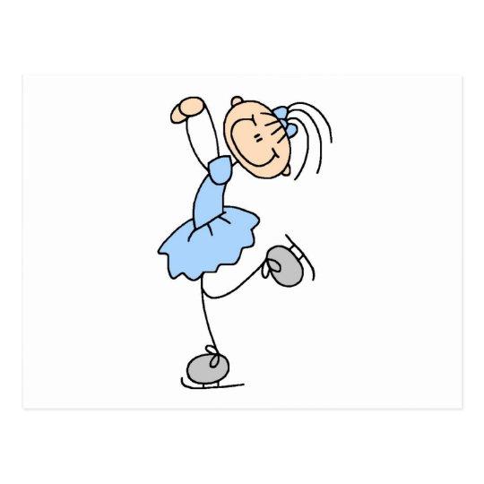 Figura azul camisetas y regalos del vestido del postales