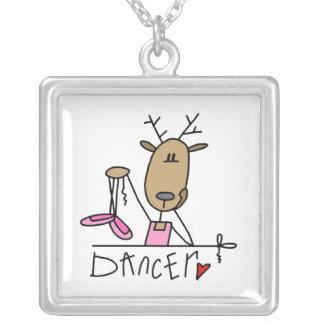 Figura bailarín del palillo el collar del reno