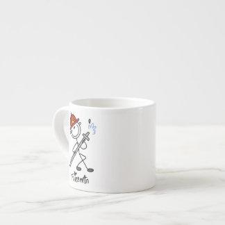 Figura básica camisetas y regalos del palillo del tazitas espresso
