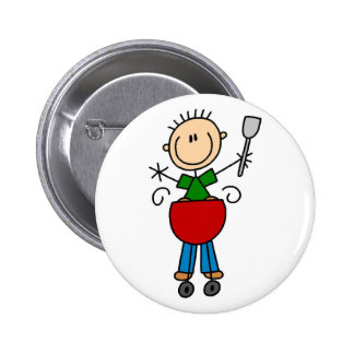 Figura botón del palillo de la barbacoa
