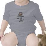 Figura camisa del palillo del gato