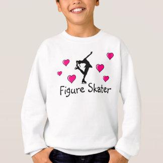 Figura camiseta de los chicas del patinador con