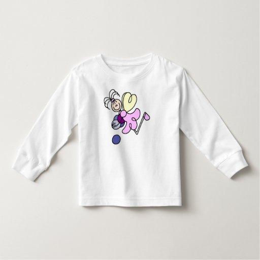 Figura camiseta del palillo de la hada de la polera