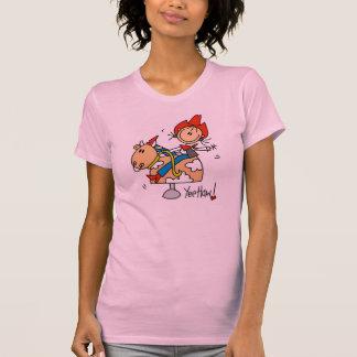 Figura camiseta del palillo del Haw de Yee de la