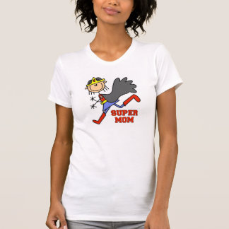Figura camiseta estupenda del palillo de la mamá