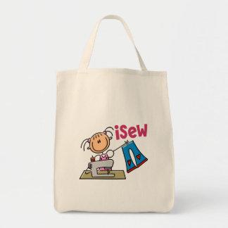 figura camisetas, regalos, y ropa del palillo del  bolsa lienzo