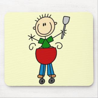 Figura camisetas y regalos del palillo de Barbeque Tapetes De Ratones