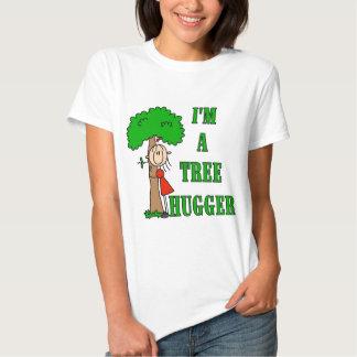 Figura camisetas y regalos del palillo de Hugger Playeras
