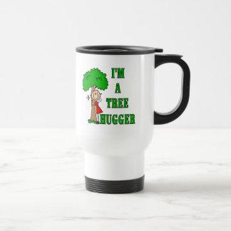 Figura camisetas y regalos del palillo de Hugger Taza De Viaje