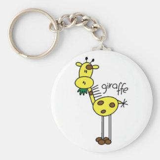 Figura camisetas y regalos del palillo de la jiraf llaveros personalizados