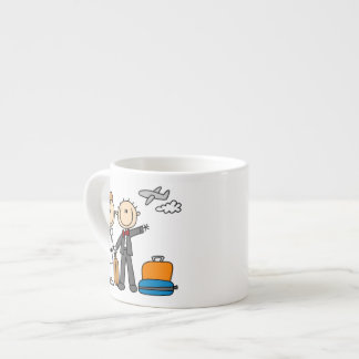 Figura camisetas y regalos del palillo de la luna tazas espresso