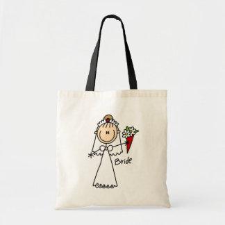 Figura camisetas y regalos del palillo de la novia bolsas