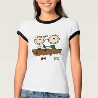 Figura camisetas y regalos del palillo de la pesca