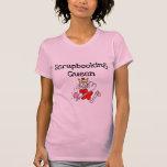 Figura camisetas y regalos del palillo de la reina playeras