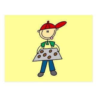 Figura camisetas y regalos del palillo de las gall postal