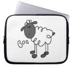 Figura camisetas y regalos del palillo de las ovej fundas portátiles
