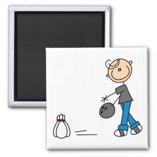 Figura camisetas y regalos del palillo de los bolo iman de frigorífico